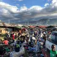 Market in Port au Prince, Haiti.